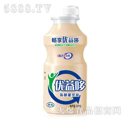 畅享优益哆原味乳酸菌饮品340ml
