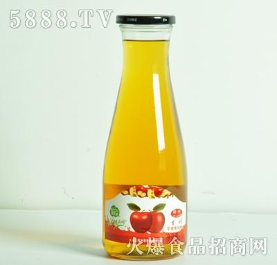 生榨苹果果肉果汁1L