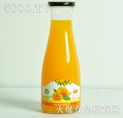生榨芒果果肉果汁1L