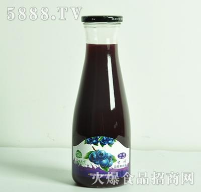 蓝莓果肉果汁1L