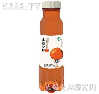 山楂宝贝山楂果肉果汁350ml