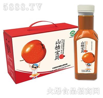 山楂宝贝山楂果肉果汁340mlx15瓶