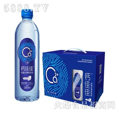 钙佳佳钙强化果味饮料380mlx15瓶