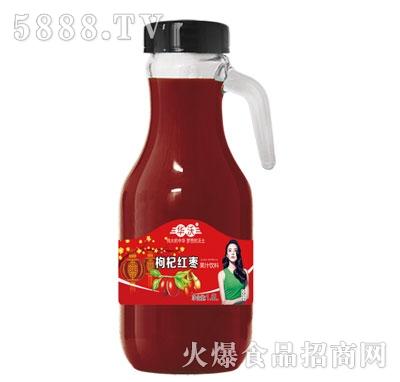 华沃枸杞红枣果汁1.5Lx6瓶