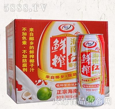 俐口椰汁960gx6罐
