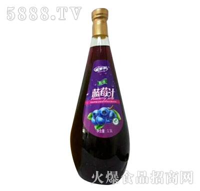 百多利蓝莓汁1.5L(瓶)