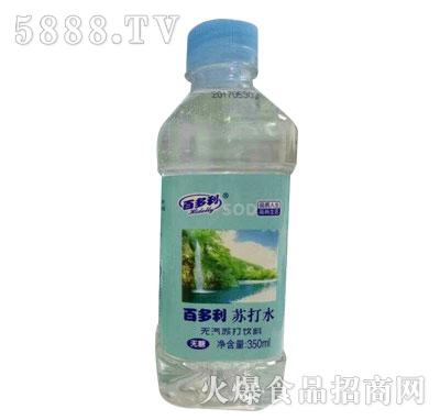 百多利苏打水350ml