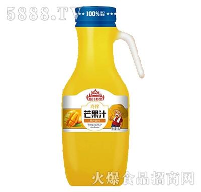 源汁醇浆冷榨芒果汁饮料1.5L