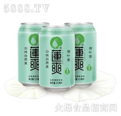 莲爽莲荷叶茶310ml