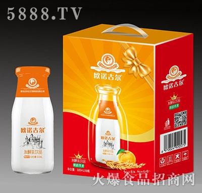 欧诺古尔发酵乳饮品黄桃燕麦320mlx8瓶
