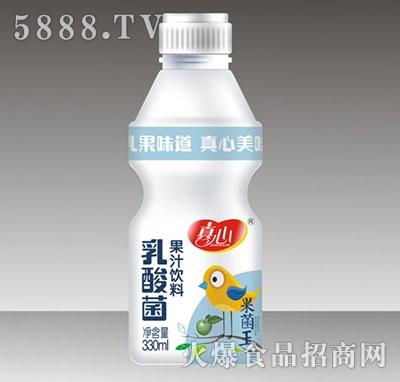 真心乳酸菌果汁饮料330ml