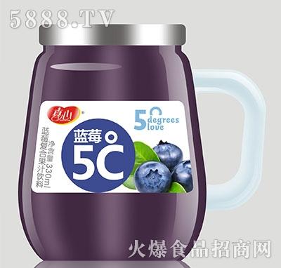 真心蓝莓5℃复合果汁饮料330ml