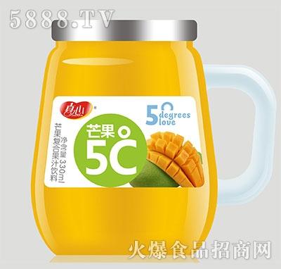 真心芒果5℃复合果汁饮料330ml