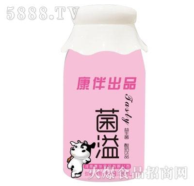 菌溢酸奶饮品葡萄+草莓380ml