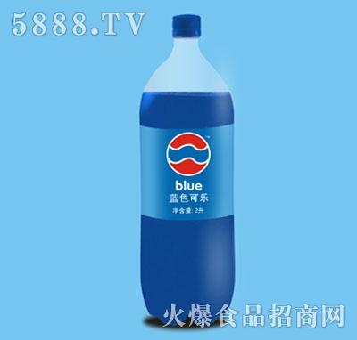 蓝色可乐2L
