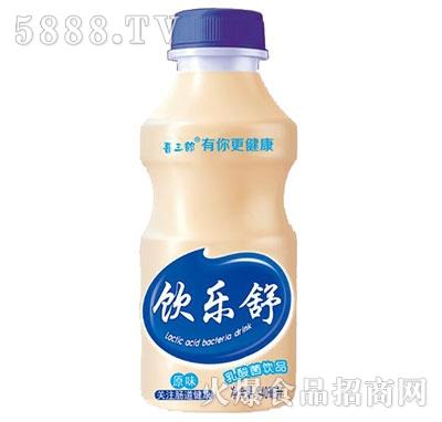 喜三郎饮乐舒乳酸菌饮品原味340ml产品图
