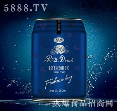 玫瑰潮饮玫瑰汁饮料250ml