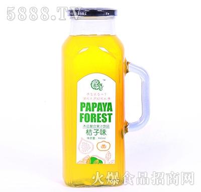 武当龙木瓜复合果汁饮料桔子味960ml