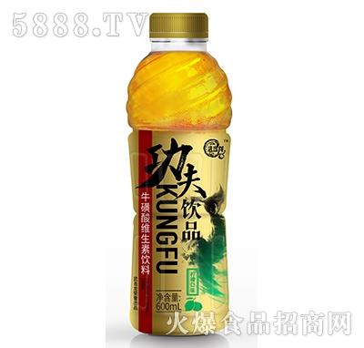 武当龙功夫饮品牛磺酸维生素饮料柠檬口味600ml