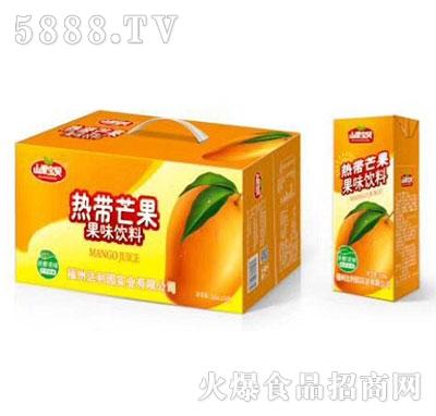 山果宝贝热带芒果果味饮料250mlx24盒