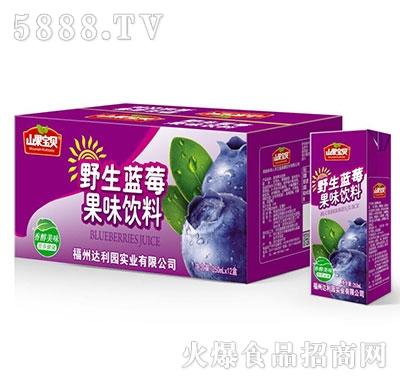 山果宝贝野生蓝莓果味饮料250mlx12盒