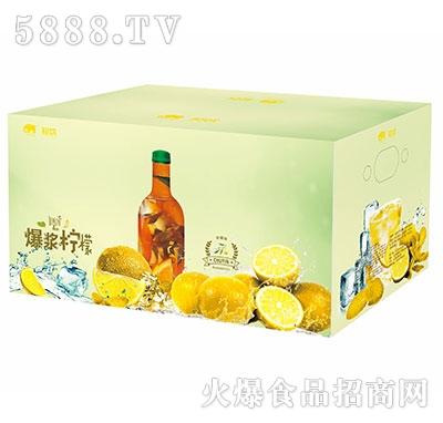 初饮复合乳酸菌爆浆柠檬汁饮品333mlx15瓶