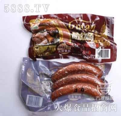 古炭食品哈风味红肠120g产品图