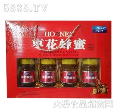 三九食疗枣花蜂蜜400gx4瓶