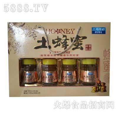 三九食疗土蜂蜜400gx4瓶