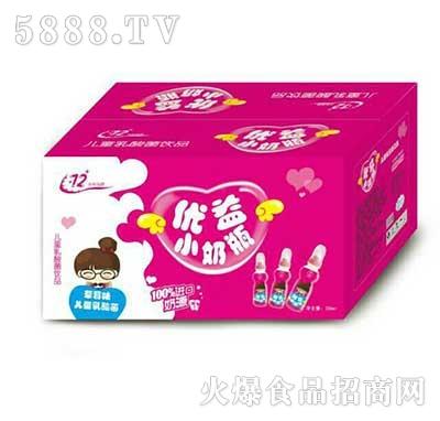 优益小奶瓶儿童乳酸菌草莓味产品图