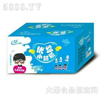 优益小奶瓶乳酸菌饮品原味产品图