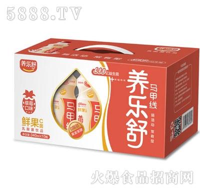 养乐舒草莓味鲜果C菌340mlx10瓶