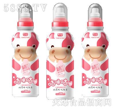 咕噜咕噜儿童乳酸菌草莓口味200ml