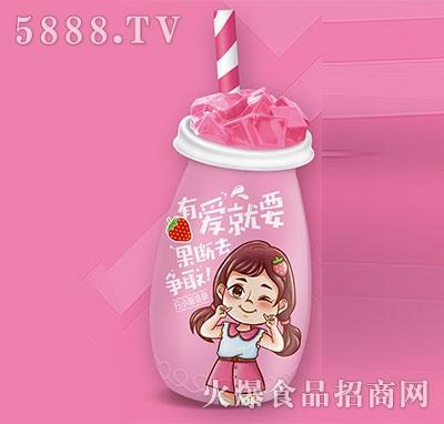 行小萌炒酸奶草莓味180ml