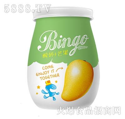 行小萌如此美滋酸奶+芒果