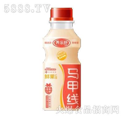 养乐舒马甲线草莓味鲜果C菌340ml