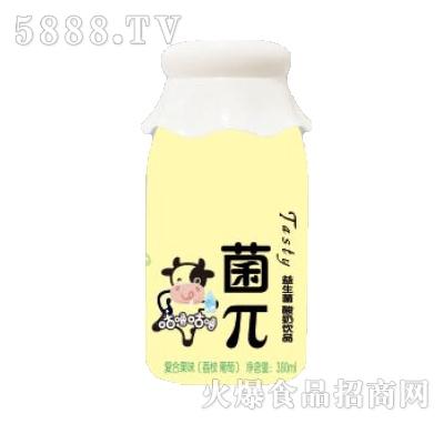 咕噜咕噜菌π荔枝味益生菌酸奶饮品380ml