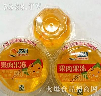 盛朝果肉果冻香橙味