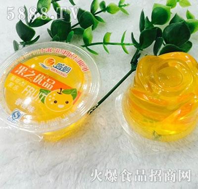 盛朝果之优品果味型果冻香橙味