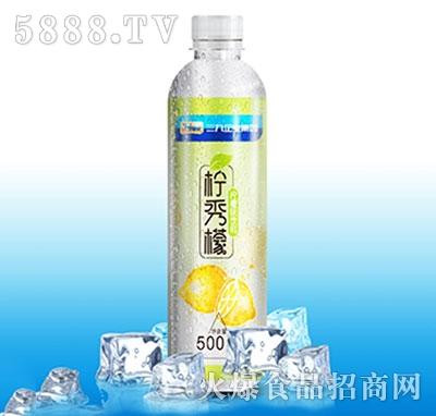 鲸采柠秀檬柠檬苏打500ml