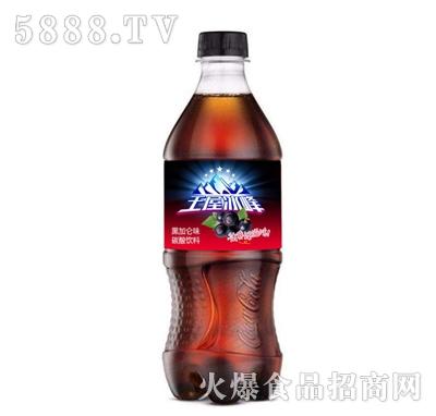 王屋冰峰黑加仑味碳酸饮料