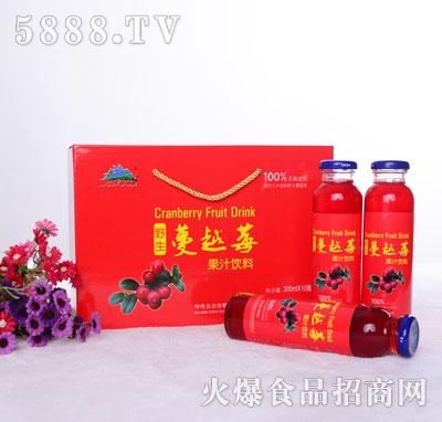 兴安猎神野生蔓越莓果汁饮料