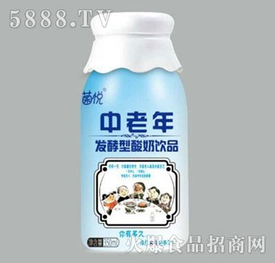 菌悦中老年发酵型酸奶饮品350ml
