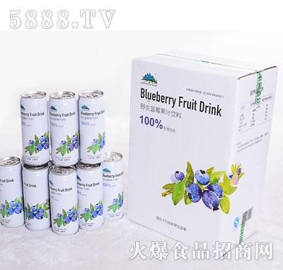 兴安猎神野生蓝莓果汁饮料(箱装)
