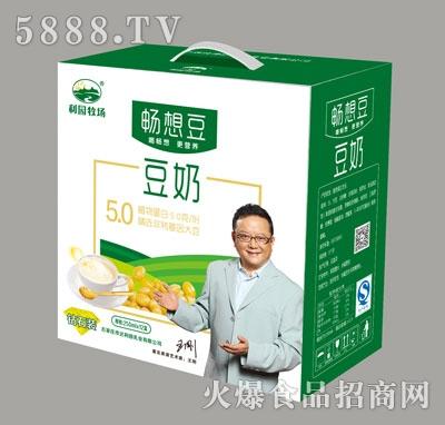 畅想豆豆奶250mlX12盒