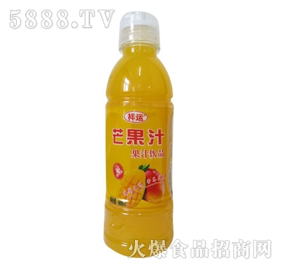 祥运芒果汁600ml