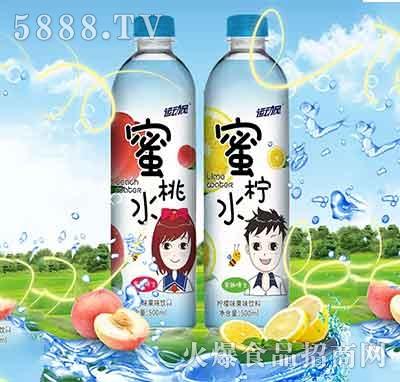 运动风蜜小桃蜜小柠果味饮料500ml产品图