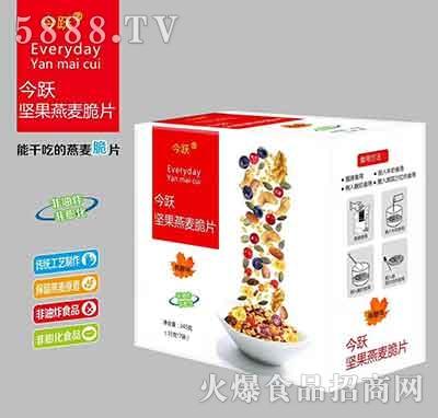 今跃坚果燕麦脆片245mlx7袋
