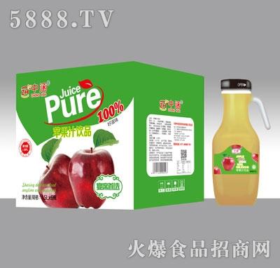 中涵苹果汁饮品1.5LX6