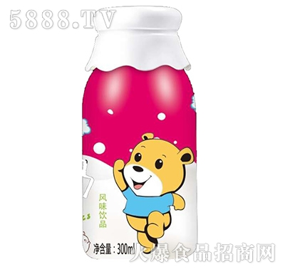 酸奶台湾风味饮品草莓味300ml